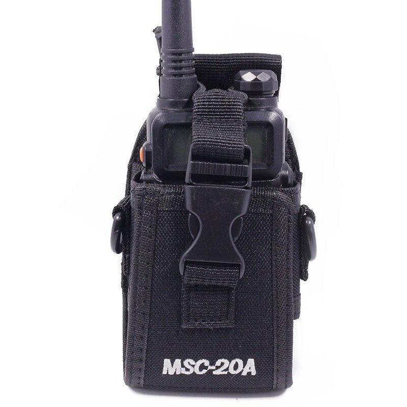 MSC-20A Nylon Multi-Fonction Universal Pouch Sac Holster Carry Case pour Baofeng Radio UV-5R Série UV-82 888 S TYT talkie Walkie