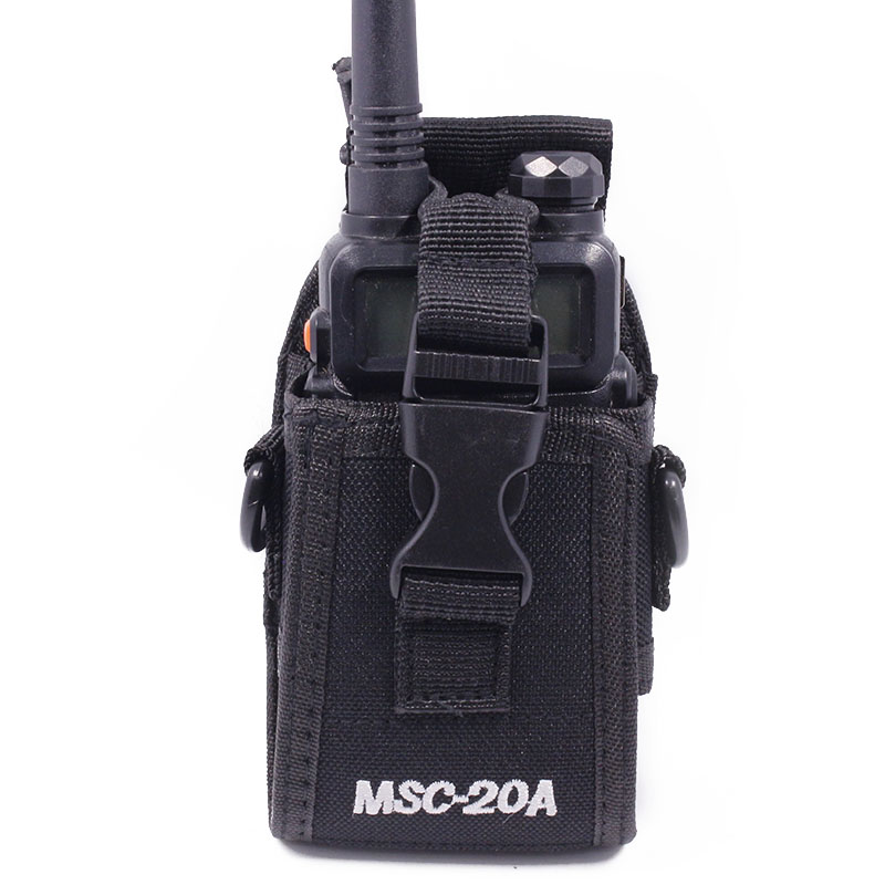 MSC-20A Nylon Multi-Function Universal Pouch Bag Holster Carry Case for Baofeng Radio UV-5R Series UV-82 888S TYT Walkie Talkie