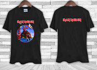 Gildan Iron Maiden Bear Final Frontier California Shows 2012 Tee Shirt TShirt