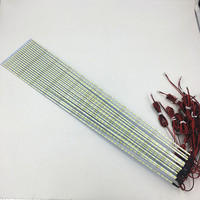 10pcs Lot 42inch 7020 LED Aluminum Plate Edge Strip Backlight Lamps Update For LCD Monitor TV