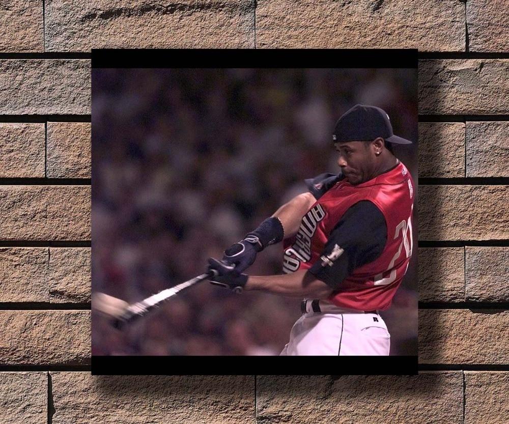 1d0bf3463f Y390 Ken Griffey Jr Great Baseball Player Hot Poster Art Canvas Print  Decoration 16x16 24x24 27x27inch