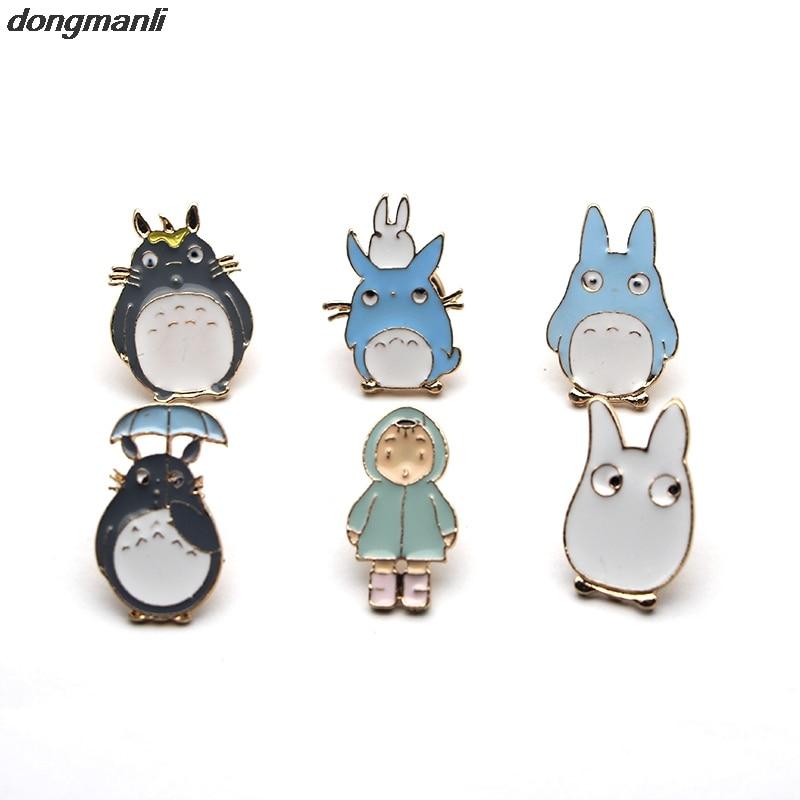 WS1111 6pcs/lot Miyazaki Hayao Spirited Away fashion jewelry accessorie