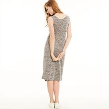 Casual Women Jersey Bodycon Dress Sleeveless  Pullover