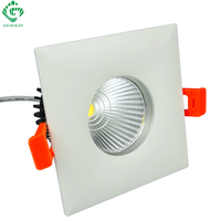 GO OCEAN Downlights Spot LED Dimmable 12W Projector CREE Downlight LED COB ceiling Downlight Square Recessed Down Light