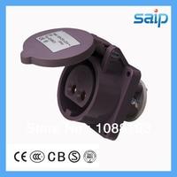 20 ~ 25 V 16A 2 P Wasserdichte Buchse  CEE/IEC Buchse für Industrie