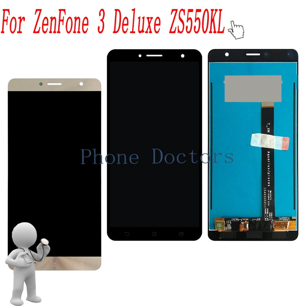 5.5 inch Full LCD DIsplay+Touch Screen Digitizer Assembly For Asus ZenFone 3 Deluxe ZS550KL Z01FD