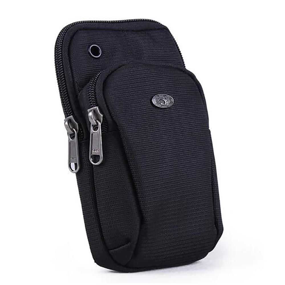Men Women Oxford Belt Hook Waist Pack Bag Arm Mobile Cell Phone Case Bags Waterproof Riding Shoulder Messenger Crossbody Bags