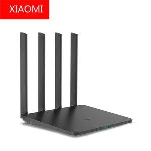 Xiaomi mi маршрутизатор 3g Ми Цзя Smart домашний Wi-Fi маршрутизатор 3G 128 Мб Flash 256 памяти 2,4 г и 5 Wi Fi 4 антенны USB 3,0
