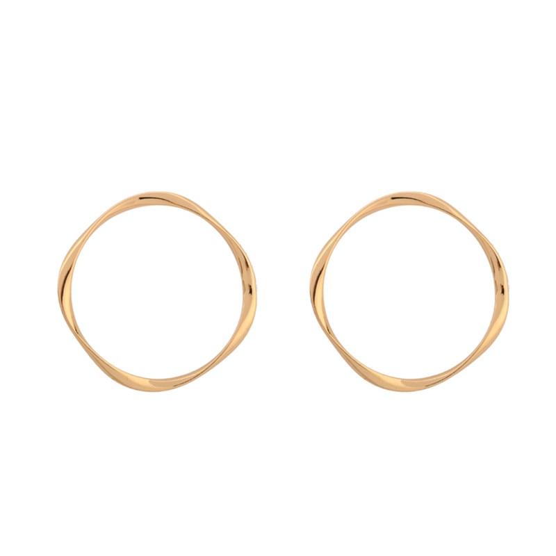 Ms hot zinc alloy earrings accessories best-selling eardrop geometric circles