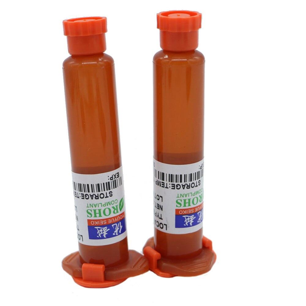 Il trasporto libero di Alta qualità 2 pz/lotto 10 ML UV Colla LOCA Liquid Ottico Trasparente Adesivo Per La Riparazione Cellulare Obiettivo Di Vetro