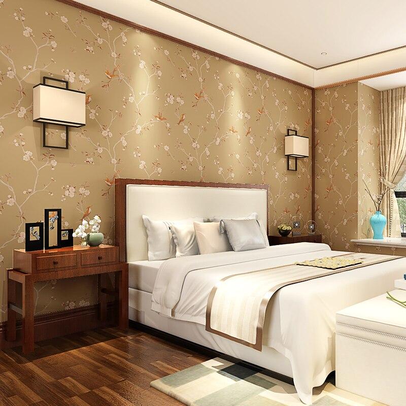 Купить с кэшбэком PAYSOTA New modern classical Chinese style wallpaper Bedroom Living Room Sofa TV Setting Non-woven Wall Paper