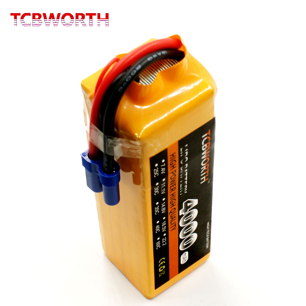 TCBWORTH 6S 22.2V 4000mAh 35C-70C RC Drone LiPo battery For RC Airplane Helicopter Quadrotor Car boat Truck Li-ion battery tcbworth rc lipo airplane battery 2s 7 4v 4000mah 30c for rc helicopter quadrotor drone car boat truck li ion batteria