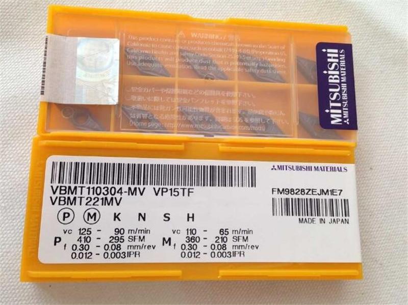 VBMT221-MV  VP15TF 10pcs MITSUBISHI  VBMT110304-MV VP15TF