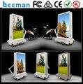 Leeman рекламы передвижная тележка p7 открытый алюминия велосипедов использовать светодиодный экран мобильный светодиодный экран грузовик экран