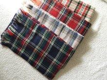 za major Winter 2015 Tartan Scarf Desigual Plaid Scarf cuadros New Designer Unisex Acrylic Basic Shawls Women's big size Scarves