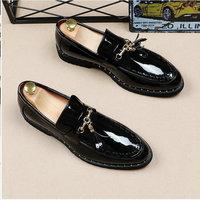 New oxford Black white italian tassel business Wedding men leather formal dress flats designer Moccasins Loafers shoes LH 61