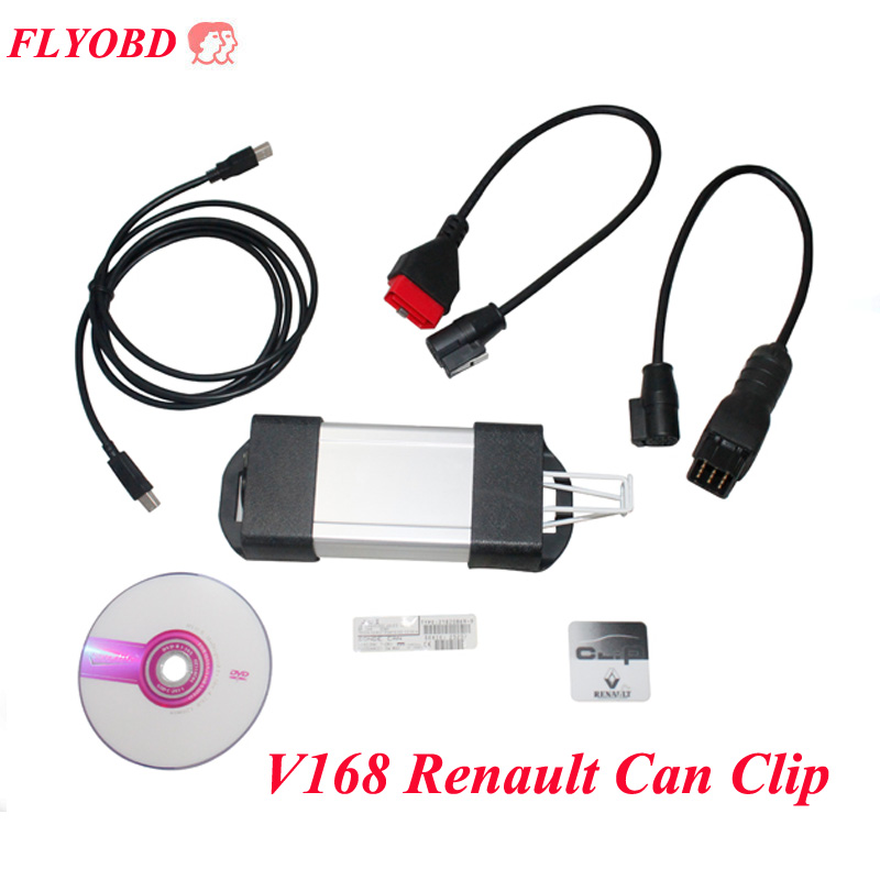 Latest V178 Can Clip Car Diagnostic Interface for Re-nault CanClip Car Diagnostic Tool Multi-Function free shipping [3pcs lot] 2016 best price can clip for renault v159 latest renault diagnostic tool with multi languages by dhl free shipping