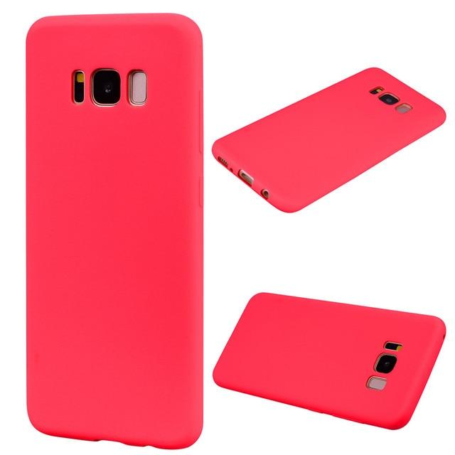 Red Samsung 6 cases flip 5c64f6c33e94a
