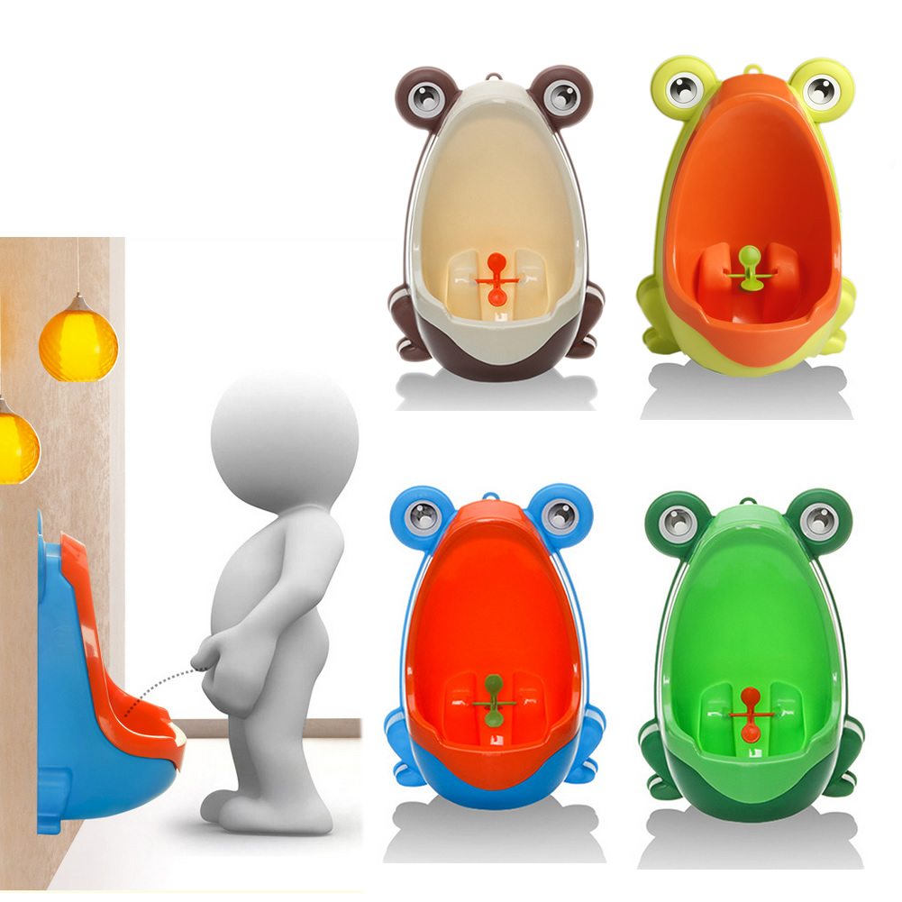 Children Frog Potty Toilet Training Kids Urinal for Boys Pee Trainer Bathroom FT