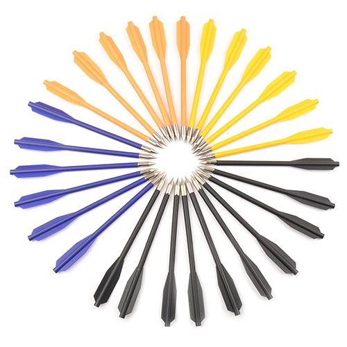 36 шт. 6,3 дюйм(ов) красочные Пластик арбалет болты стрелы для Охота стрельба из лука