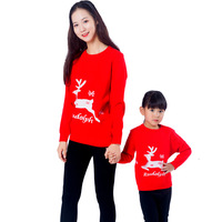 2019 Christmas Outfit Christmas Sweaters Baby Boy Girl Cardigan Family Matching Clothes Mommy and me clothes big sister