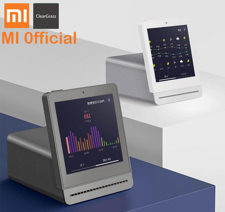 Xiaomi Clear Grass Air Detector 3 1 Retina Touch IPS Screen Mobile Touch Operation Indoor Outdoor