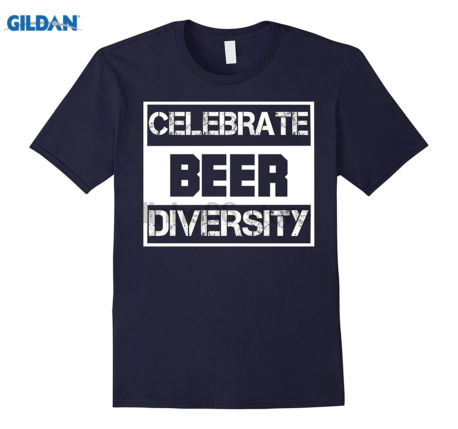 GILDAN Celebrate Beer Diversity beer Funny T-shirt Mothers Day Ms. T-shirt