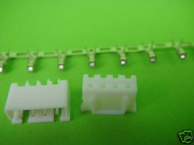 Микро JST 4-Булавки разъем Панель pcb mount4ay 1000-пара