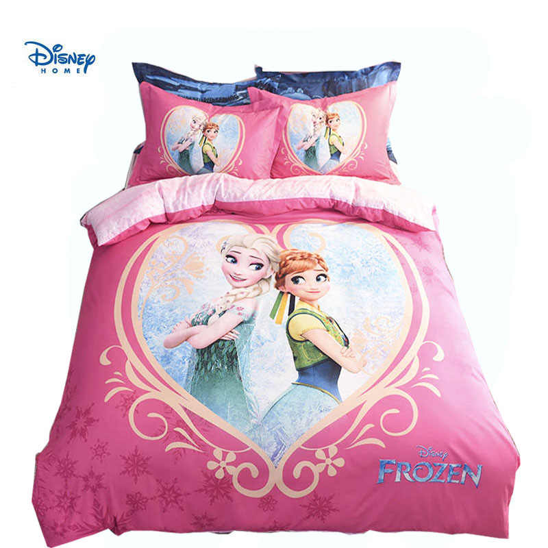 FROZEN elsa anna bedding set queen twin full size disney princess