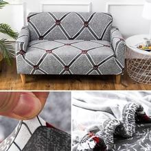 Эластичный чехол для дивана из мебель протектор 1/2/3/4-seater На Двоих Секционный Диван Чехлы для Гостиная