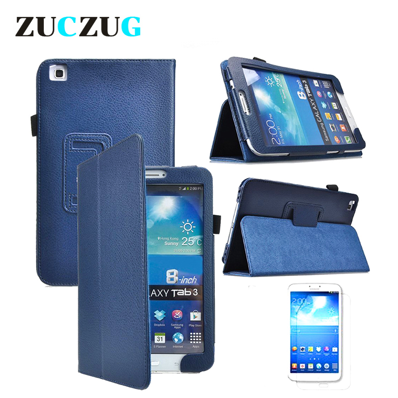 Stand Leather Case for Samsung Galaxy Tab 3 8.0 T310 T311 Flip Leather Tablet Cases for Samsung Galaxy Tab 3 Cover Funda Capa luxury pu leather silicon case for samsung galaxy tab 3 8 0 sm t310 t311 t315 case cover funda fashion tablet flip stand shell