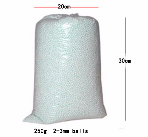 500g/250g Wholesale Polystyrene Styrofoam Plastic Foam Mini Beads Ball DIY Assorted White Decorate Event Party Halloween