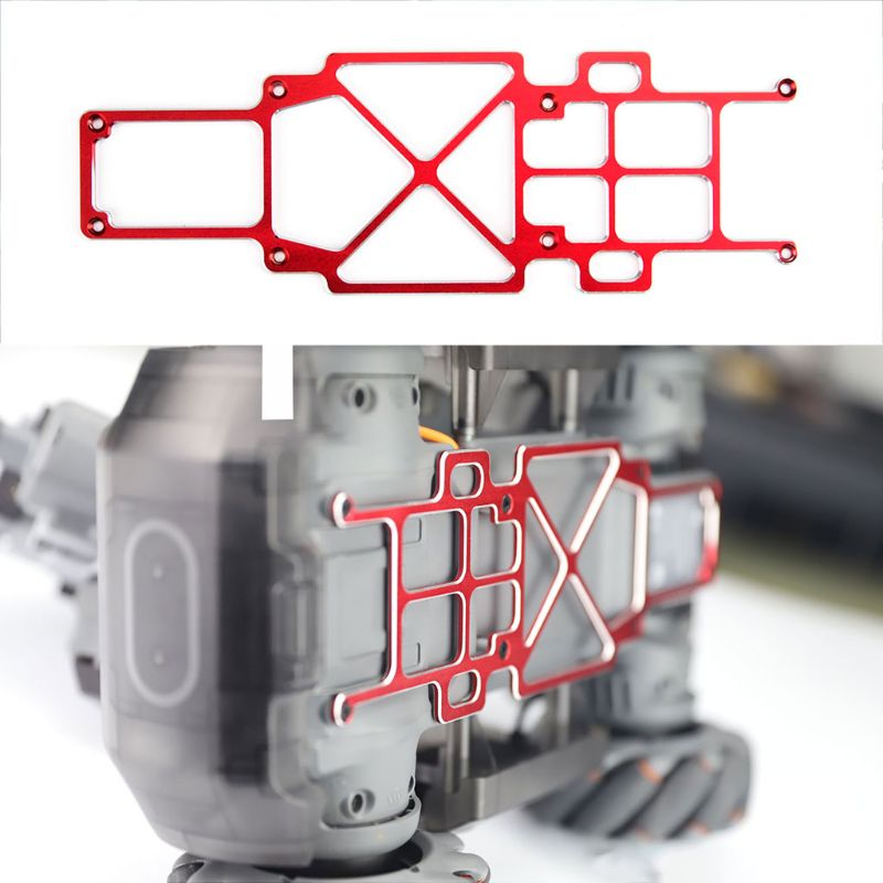 Anti-scratch Aluminum Alloy Chassis Strengthen Piece For DJI RoboMaster S1 Educational Robot Accessories