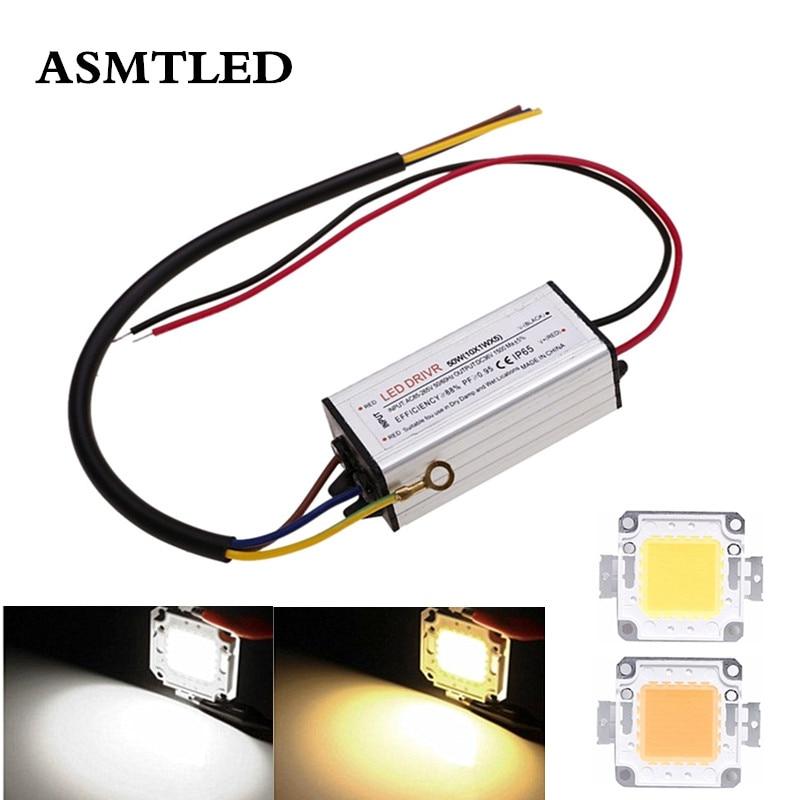 SMD LED Chip Bulb 10W 20W 30W 50W 70W 100W Driver Power Waterproof Supply High