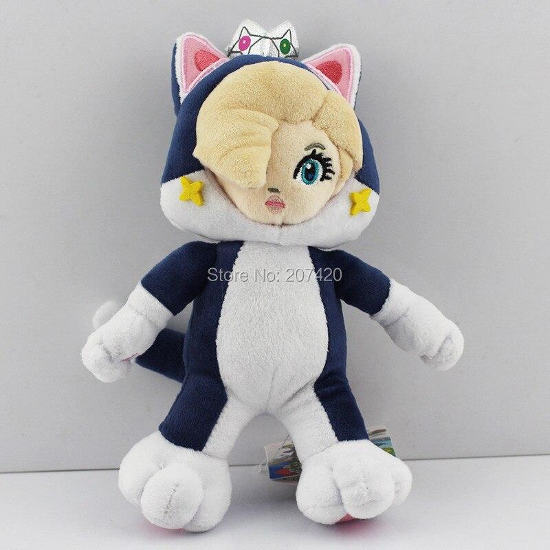 22cm super mario 3d world cat princess rosalina soft