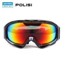 POLISI Polarized Outdoor Sports Snow Snowboard Ski oggles Skiing lasses Snowboarding Skate Eyewear Motocross Goggles