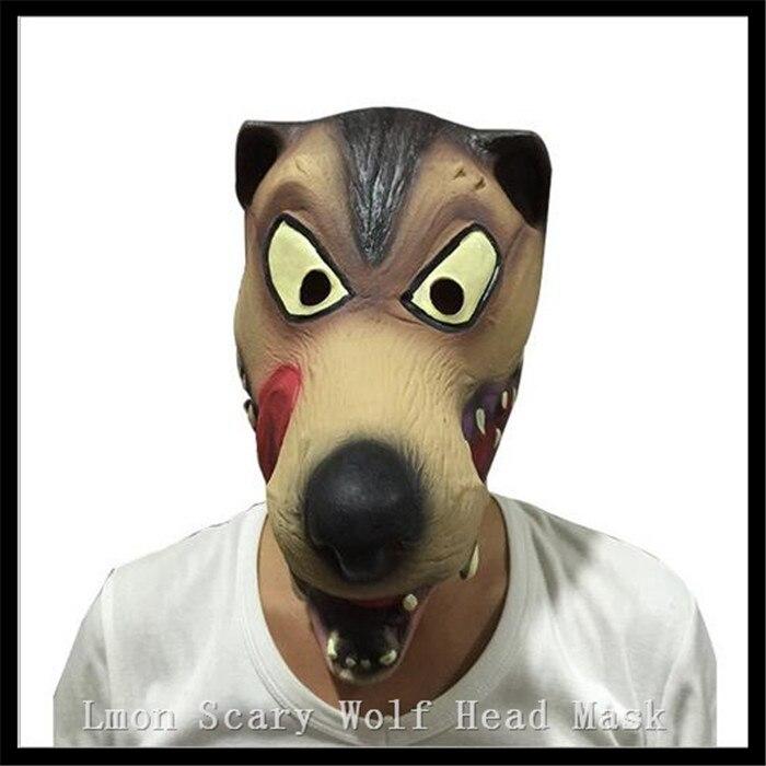 Venta caliente Halloween Horror diablo Máscaras látex Máscaras Halloween  animal Wolf máscara Halloween Horror Máscaras en stock 7d0e42ad1615