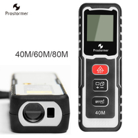 Prostormer Laser Rangefinders 40 60 80M Digital Laser Distance Meter Optical Instrument Measure Tools