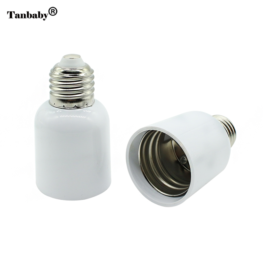 Tanbaby High Quality LED Adapter E27 to E40 Lamp Holder Converter Socket Light Bulb Lamp Holder Adapter Plug Extender Led Light