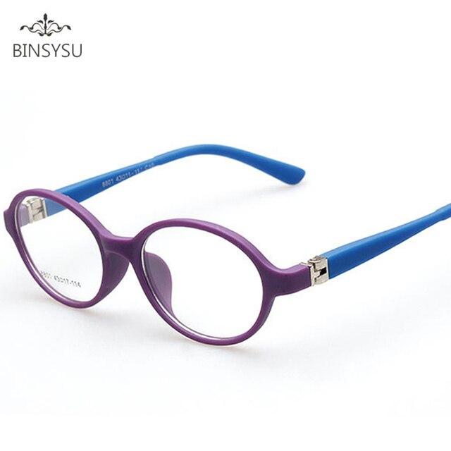 Anak-anak Frame Kacamata Kacamata Optik Kacamata Bulat untuk Anak-anak Laki- laki e2612b7783