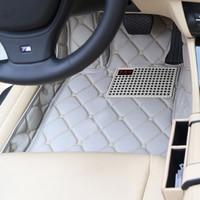 Полное покрытие водонепроницаемые ковры Пользовательские Левая рука привод LHD автомобильные коврики для Volkswagen Beetle Golf Tiguan Sharan Passat CC EOS