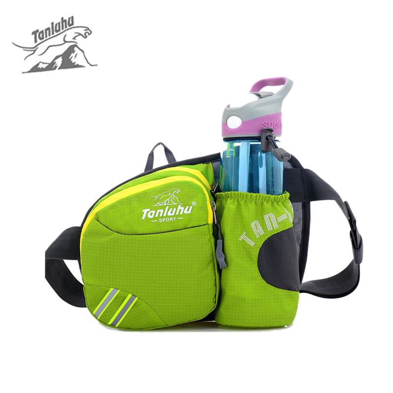 Outdoor Sports Gym <font><b>Running</b></font> Bags Women Waist Packs <font><b>Cell</b></font> <font><b>Phone</b></font> <font><b>Belt</b></font> Wallet Unisex Portable Riding Cycling Bag With Kettle XA519WD