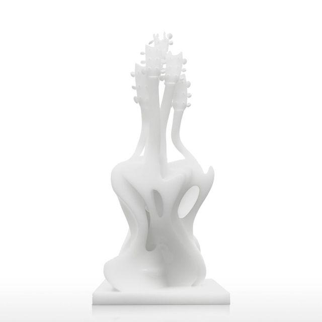 Moderne Skulptur tooarts tanzen gitarre 3d gedruckt skulptur exaggerative modell