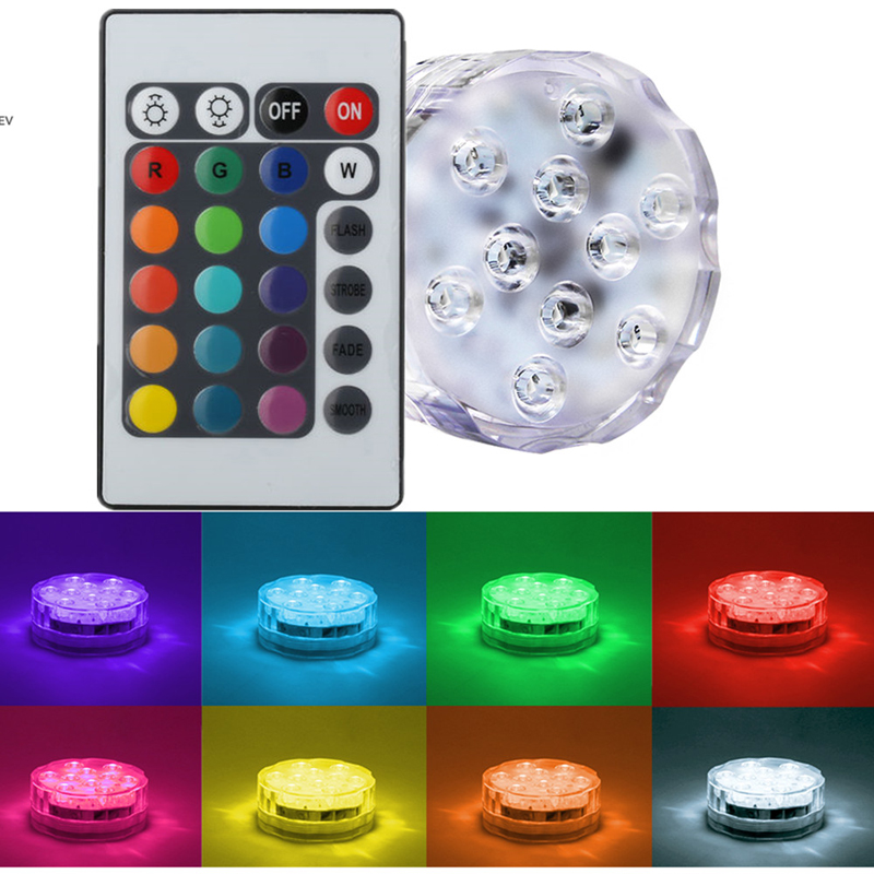 1piece Lot 3aaa Battery Operated Remote Control 16colors