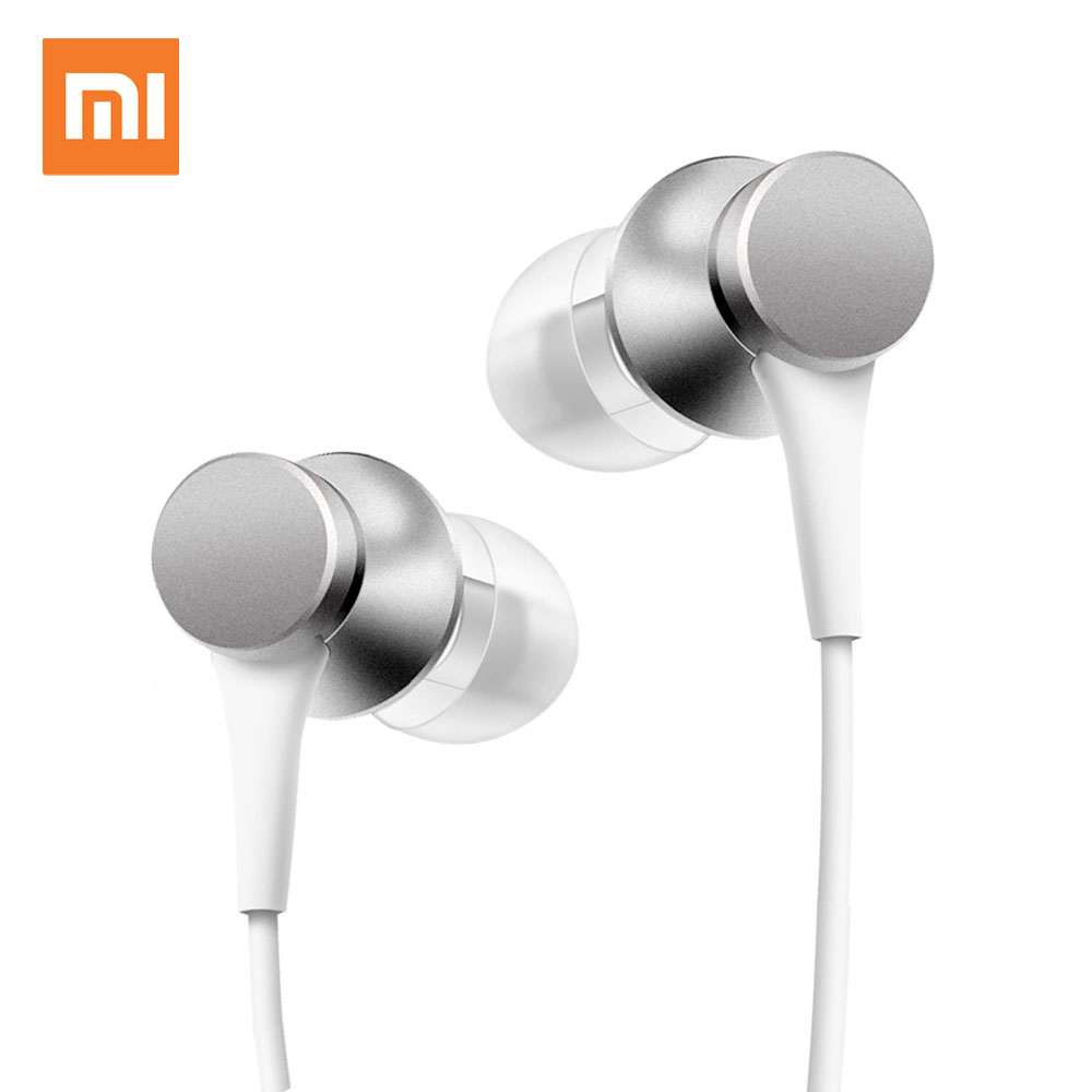 Xiaomi Fresh In-ear Earphone Wired Headset With Microphone for Xiaomi Samsung Huawei Iphone ear phone awei wired stereo headphone with mic microphone in ear earphone for your in ear phone buds iphone samsung player headset earbuds