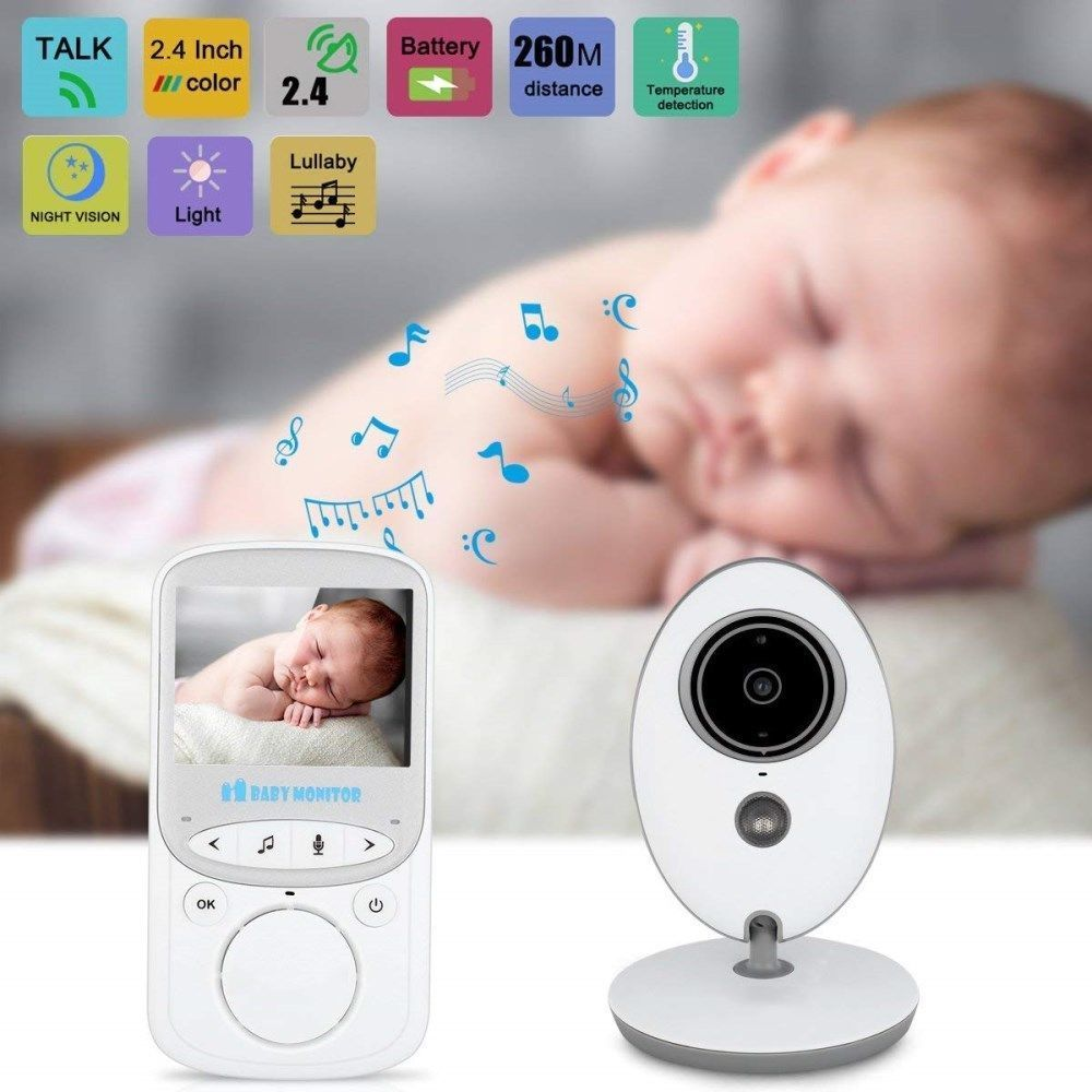 Wireless 2.4GHz Digital Color LCD Baby Monitor Camera Night Vision Audio Video Y