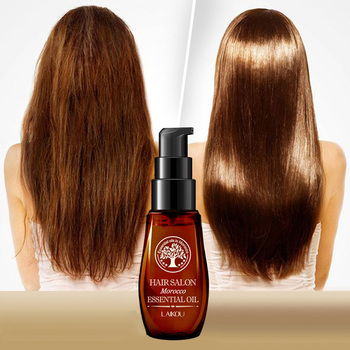 Keratin Pure Argan Oil Hair Essential Oil For Frizzy Dry Repair Hair Care