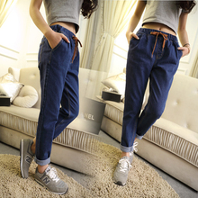 2016 Fashion Jeans women large size women pants slim jeans woman tights lady Jeans XL-5XL plus size jeans for women T03