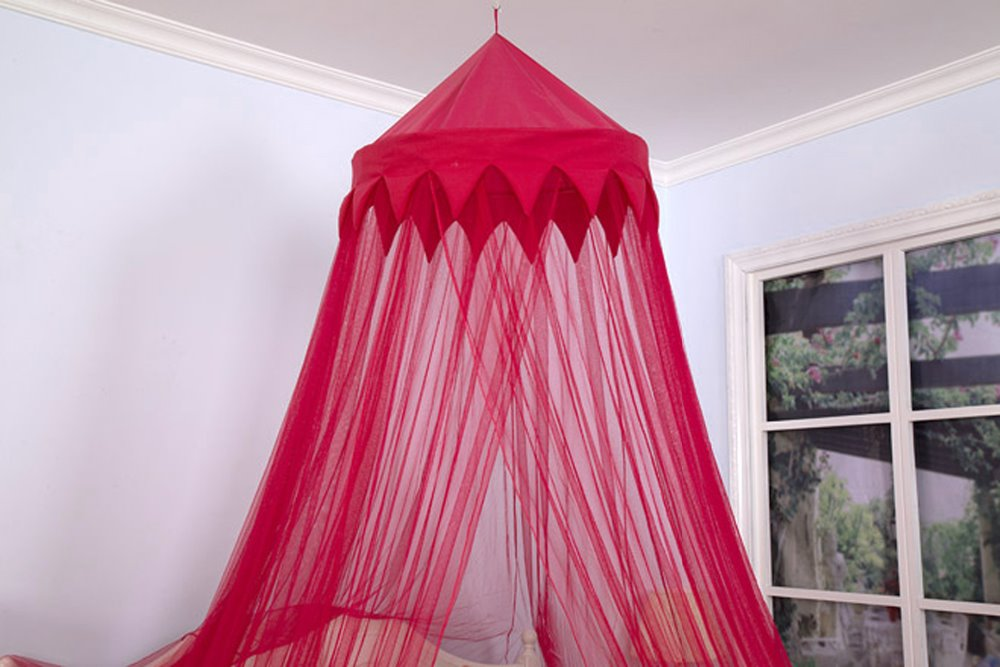 red wine color mosquito net dreamma burgandy bed canopy bedroom curtain decor outdoor kid toy play tent fly bee bug netting mesh in toy tents from toys