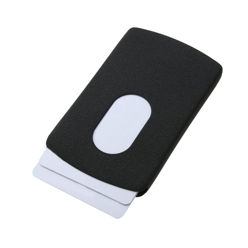 Metal Money Clip 100% Stainless Steel Easy Carry Convenient Cash Card Notepaper Holders Folder Wallet Clips On Promotion